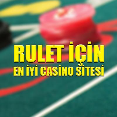 Rulet için en iyi casino sitesi